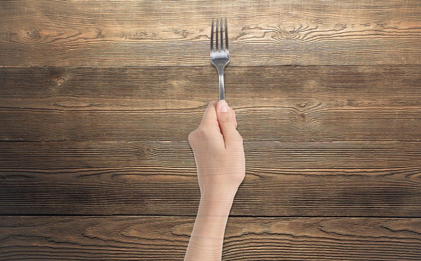 Hold your fork story by Annette Hupp
